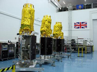 Sstl Announces Successful Launch Of The Dmc3 Triplesat