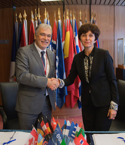 ESA and Airbus Defence & Space sign an agreement