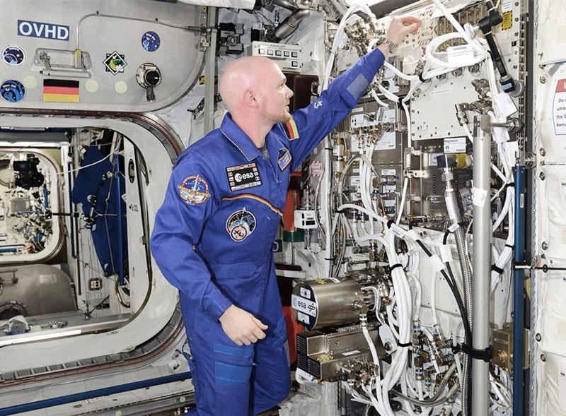 German ESA astronaut Alexander Gerst
