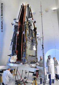 SWARM at IABG Space Test Center