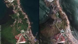 Typhoon Tacloban captured by Pleiades