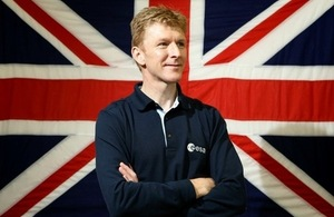 Tim Peake (Credit UK Space Agency)