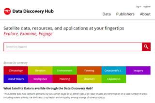 Data Discover Hub website