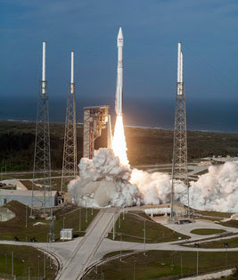 Lockheed Martin EchoStar XIX launch