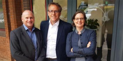 Sean Corbett, Charles Davis and Adina Gillespie