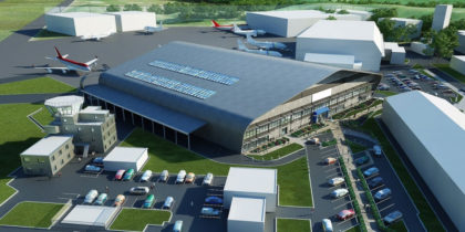 Cornwall spaceport graphic