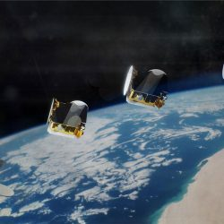 OneSat satellites after launch 1600