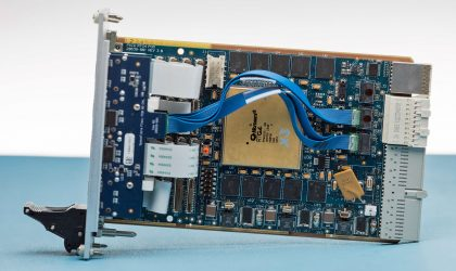 SpaceFibre PXIe RTG4 Side