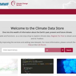 Copernicus Climate Data Store