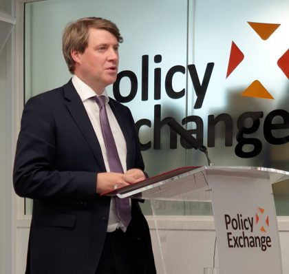 Chris Skidmore at Policy Exchange