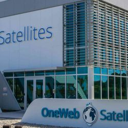 OneWeb Satellites facility outside