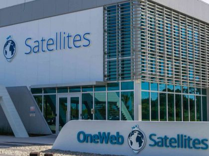 OneWeb Satellites facility outside