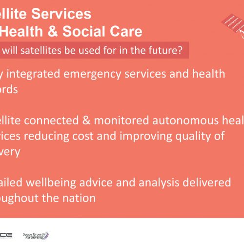 Click here to view the infographic about Satellite Services for Health & Social Care
