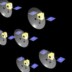 Oberon project spacecraft cluster