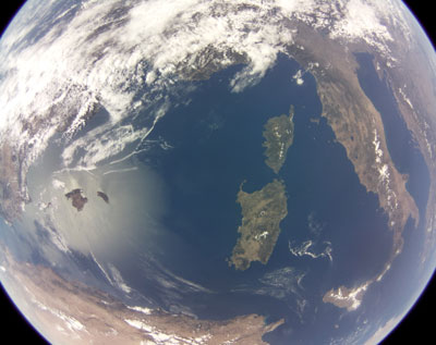 SSTL Raspberry Pi image of the Med