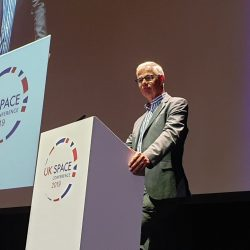 Andy Green at UK Space Conf 2019