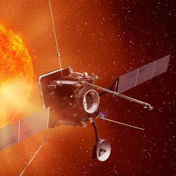 Solar Orbiter artist's impression (copyright Airbus)