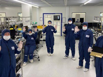 Teledyne e2v CCD Fabrication team 1600800