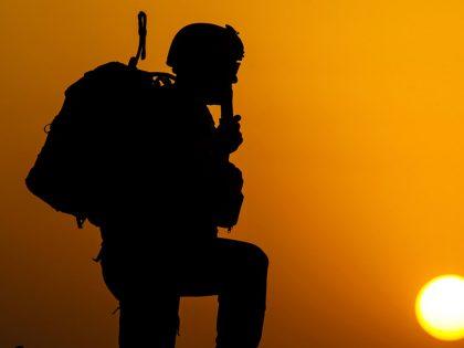 Soldier Silhouette (Intelsat)