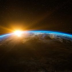Space sunrise 1600