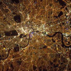 London nightlife by Tim Peake