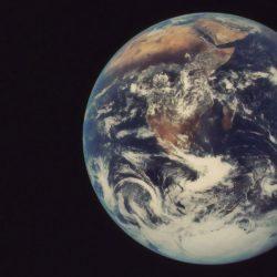 NASA blue marble moon 1972