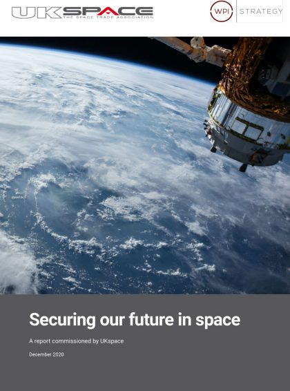 Securing Our Future in Space Report