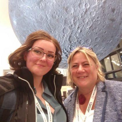 Charlotte Newton Amanda Price space conf 2019