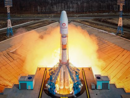 OneWeb satellite launch (March 2021)