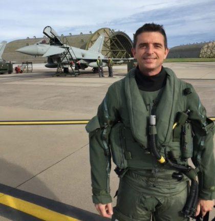 Air Vice-Marshal Paul Godfrey, Commander, UK Space Command