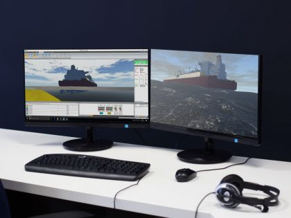 BMT REMBRANDT ship simulation