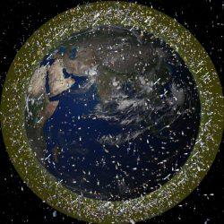 Space debris in low Earth orbit