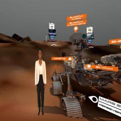 Teledyne UK interactive Space showcase