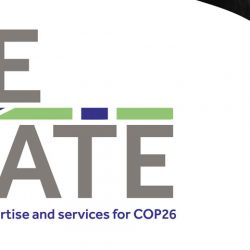 Space4Climate COP26 banner